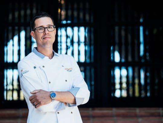 Alexander La Motte is executive chef for Hotel Californian,