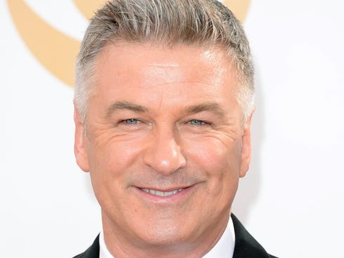 Alec Baldwin at the Emmys on Sept. 22.