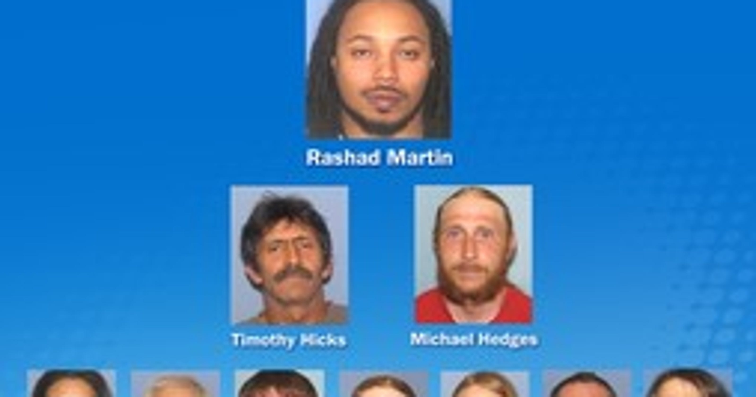 Two Licking County men facing charges in meth bust
