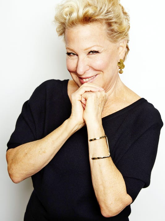 AP THEATER BETTE MIDLER A FILE ENT USA NY