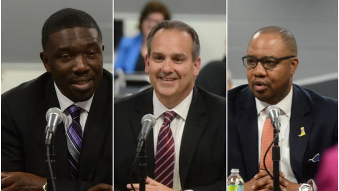 Shawn Joseph, Jesus Jara and H. Allen Smith were selected as the top three candidates for the Nashville schools director position.