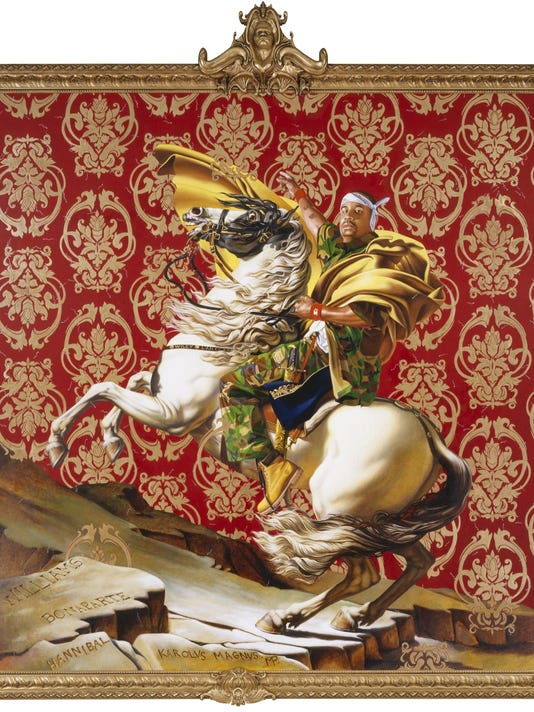 'Kehinde Wiley: A New Republic' at Phoenix Art Museum