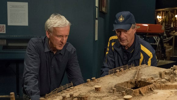 James Cameron and oceanographer Bob Ballard discuss