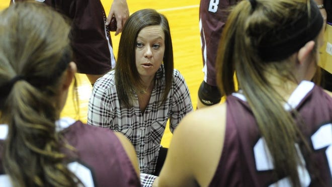 Lauren Roberts/Times Record News Bowie's Colby Davis Pastusek will replace Ramsey Ghazal as Rider's new girls basketball coach. Davis Pastusek has won five consecutive district titles with the Lady Rabbits.