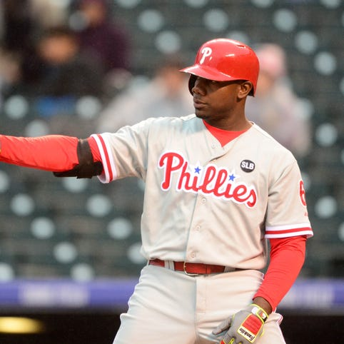 Phillies first baseman Ryan Howard took advantage of Coors Field this week to boost his home run total.