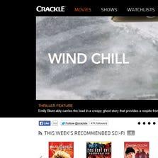 Crackle.com website