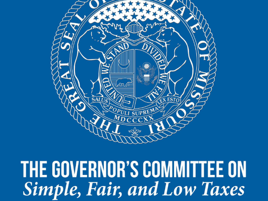 Governor's tax committee logo