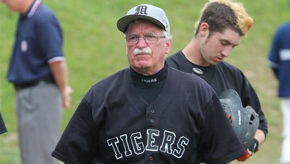 Mamaroneck High School baseball coach Michael Chiapparelli,