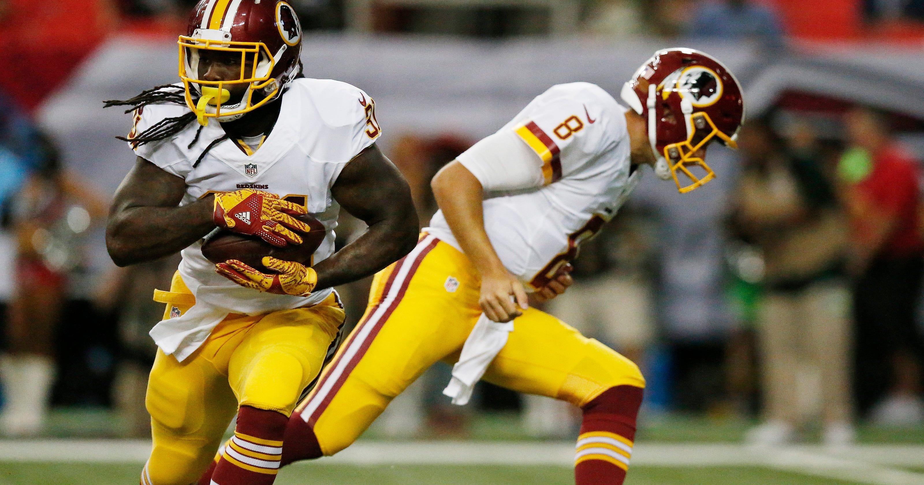 c10b86f7 Redskins RB Matt Jones expects to play vs. Steelers Monday