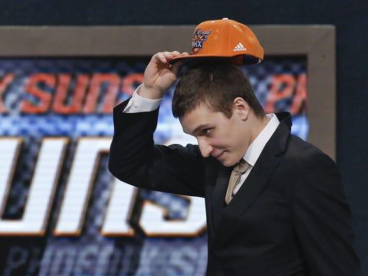 Suns draft history