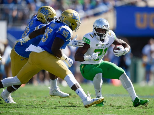 NCAA Football: Oregon at UCLA