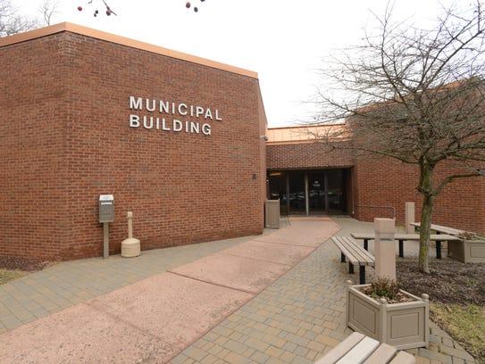 The Rockaway Township Municipal Center sits at  65