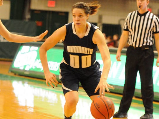 In addition to her work in the community, Howell native Sarah Olson has been Monmouth University's leading scorer on the court the past two seasons.