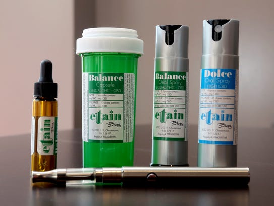 Medical marijuana dispensed by Etain will be come in