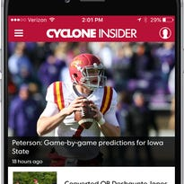Cyclone Insider app for the Des Moines Register