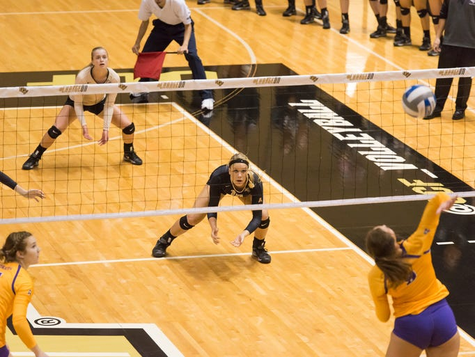 Knights volleyball met the end of its five-game win