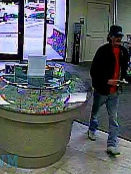Escambia County deputies are seeking a suspect in connection with the robbery of the Alabama Credit Union at 13039 Sorrento Road.
