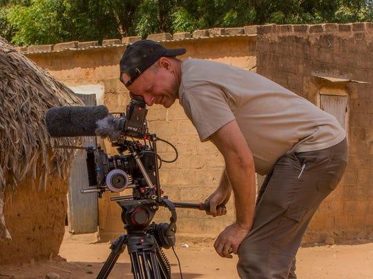 Ken Beale on location in Senegal.