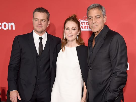 Matt Damon, Julianne Moore and George Clooney called