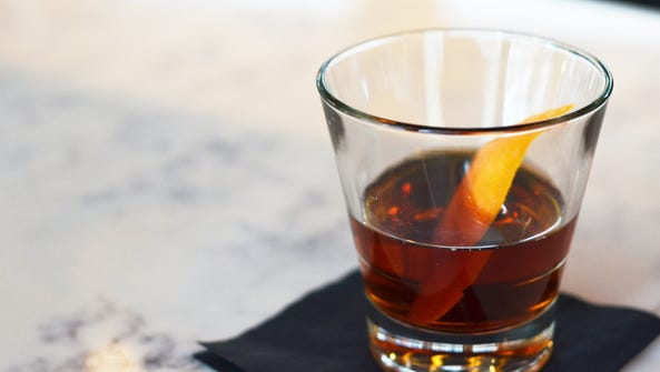 """""""I Have the High Ground"""" cocktail from Union Common."""
