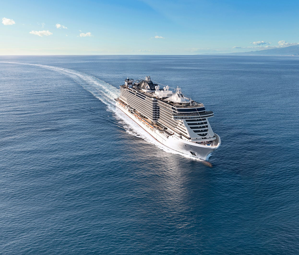 18. MSC Seaview. Christened in June 2018, this is a sister to MSC Seaside that also measures about 153,500 tons.