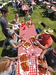 Crawfest at Betty Virginia Park returns as a two-day festival March 22-23, 2019.