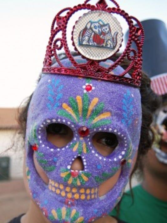 Day of the Dead Calacas sugar masks