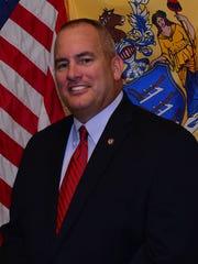 New Jersey PBA President Patrick Colligan is grand
