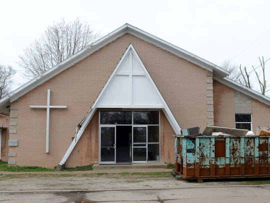 A former church at 515 E. Fifth St. in Port Clinton