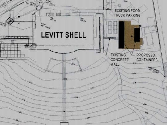 Levitt Shell wants to adapt shipping containers for buildings