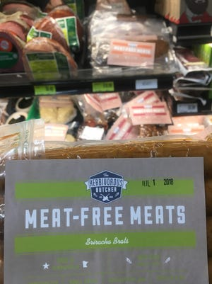 The staff of St. Cloud's Good Earth Food Co-Op said The Herbivorous Butcher's meatless brats are among the most popular items from the brand.