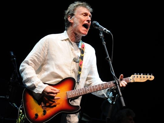 Steve Winwood performs at the Cruzan Amphitheater on September 20, 2014 in West Palm Beach, Florida. (Photo by Jeff Daly/Invision/AP)