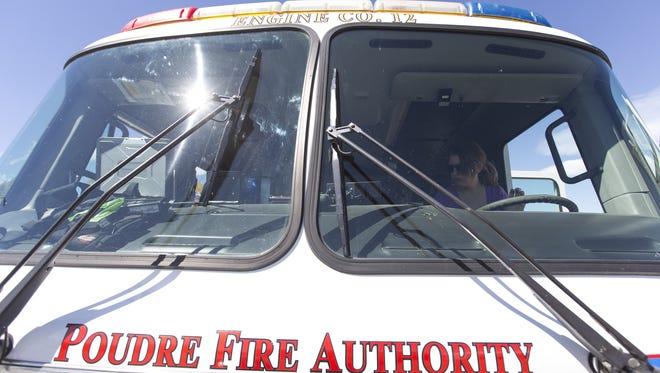 PFA crews are battling a fire.