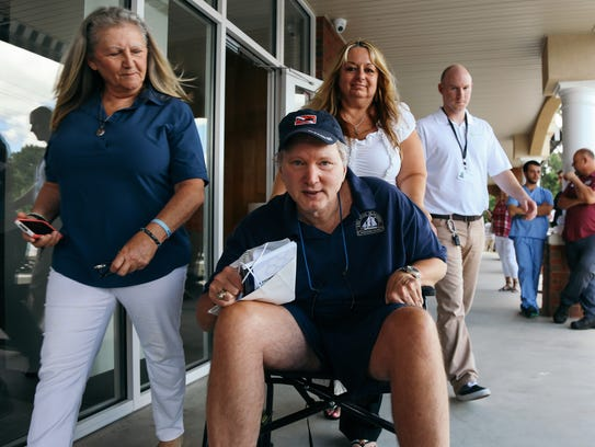 Dallas Nagy, Florida's first medical marijuana patient,