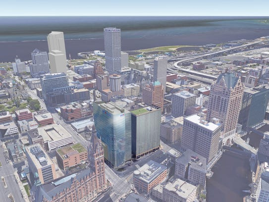 BMO Harris Bank released drawings of its proposed new