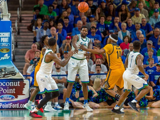 FGCU's Eagles love to fly the floor. It will be very