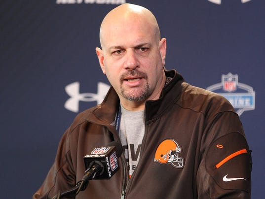 Browns head coach Mike Pettine