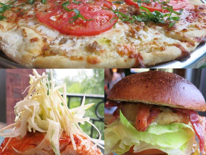 At Sips Gastropub in Washington Twp., the  Margherita pizza features a thin, tender crust.