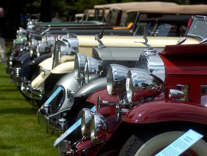 This years Concour d' Elegance at St. Johns in Plymouth attracted vintage car enthusiasts from around the world.