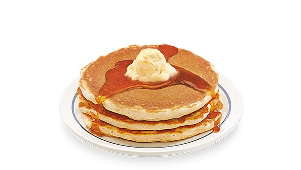 IHOP will be serving up free short stacks of buttermilk pancakes for National Pancake Day on March 8 and ask for voluntary donations to help support local childrens charities.