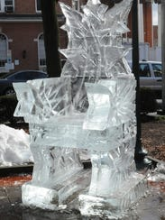 The IceFest throne in 2012