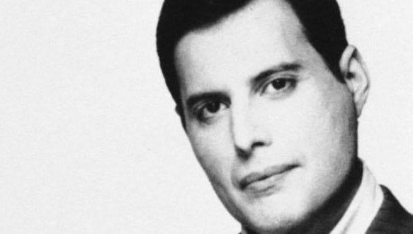 In 1991, rock singer Freddie Mercury died in London at age 45 of AIDS-related pneumonia.