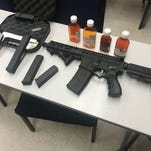 Salinas police: AR-15 found near where child sleeps, man arrested for child endangerment