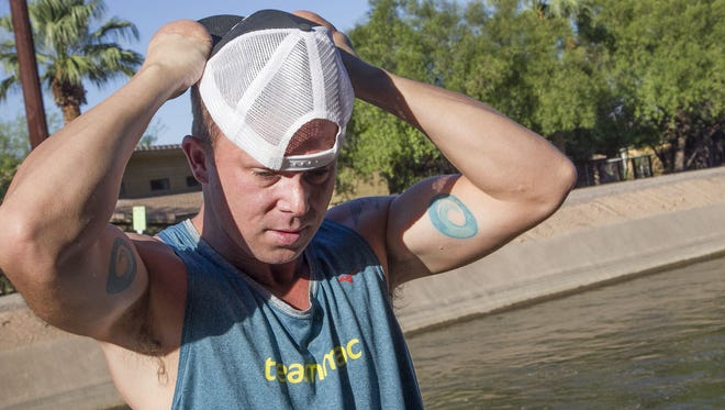 Matt Miller of Phoenix suffered severe frostbite in a mountain climbing accident but has turned to ultra-distance running. He's training for the NorthFace Endurance Challenge Dec. 5 near San Francisco.