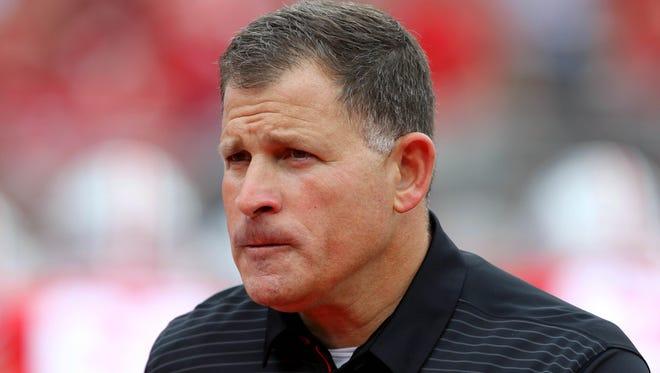 Ohio State defensive coordinator Greg Schiano