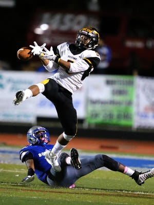Piscataway vs. Sayreville in high school football action on Friday, Oct. 6, 2017.