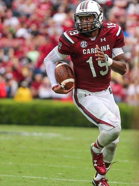 NCAA Football: Central Florida at South Carolina