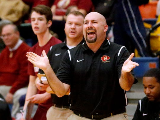 Riverdale coach Michael Voss is taking Riverdale to its first state tournament since 1986.