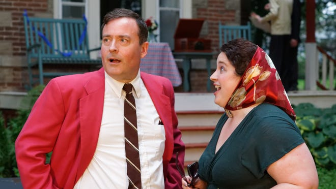 """Rip Russell and Jen Brown will perform in Fourth Room Theatre's production of """"Much Ado About Nothing,"""" as part of their Free Classics series beginning 7 p.m. Friday at 901 Melrose Ave."""