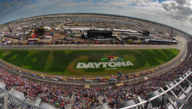 A look at Daytona International Speedway prior to the start of last year's 58th annual Daytona 500.